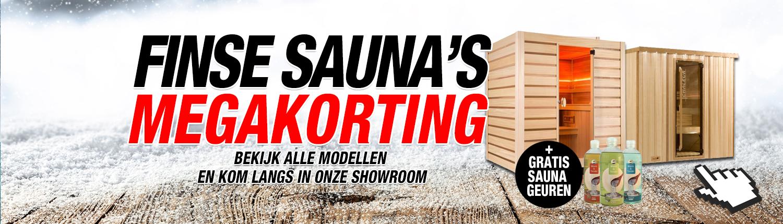 Finse Sauna's Kortingen