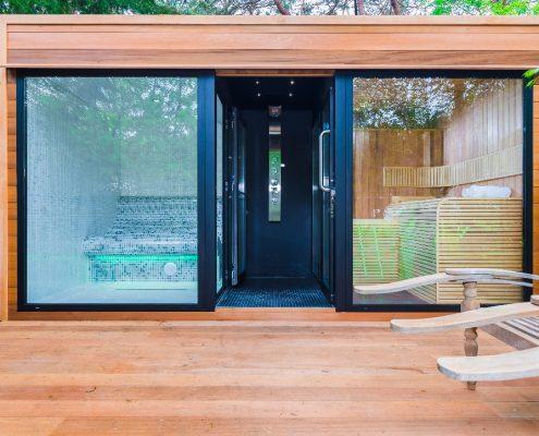 Sauna project Bosch en Duin