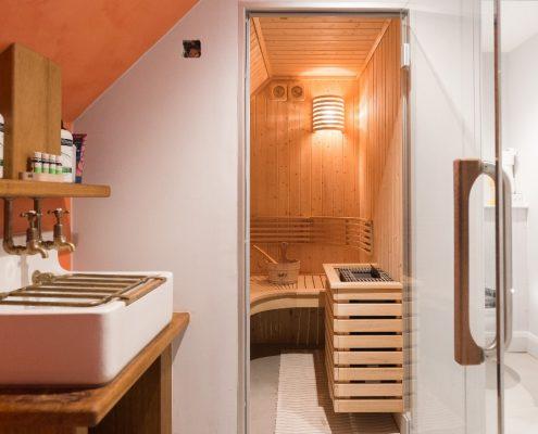Sauna project Holiday cottage - Engeland