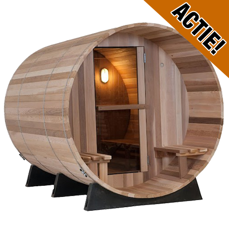 Almost Heaven Barrel sauna Canopy