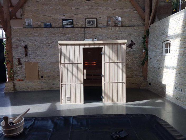 Maatwerk Finse sauna