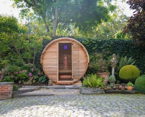 Alpha barrel sauna / infrarood