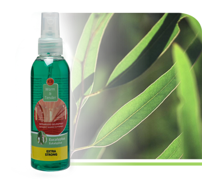 Infraroodsauna geur Eucalyptus