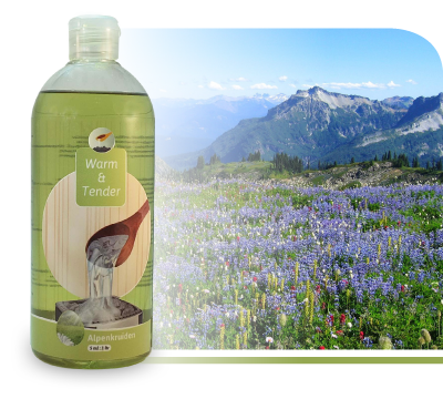 Sauna geur Alpenkruiden