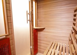 Health & Wellness infrarood sauna detail