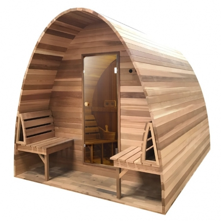 Sauna pod Red Cedar Clear