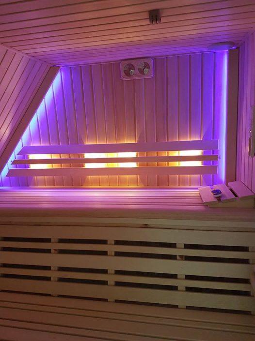 Maatwerk sauna in Friesland