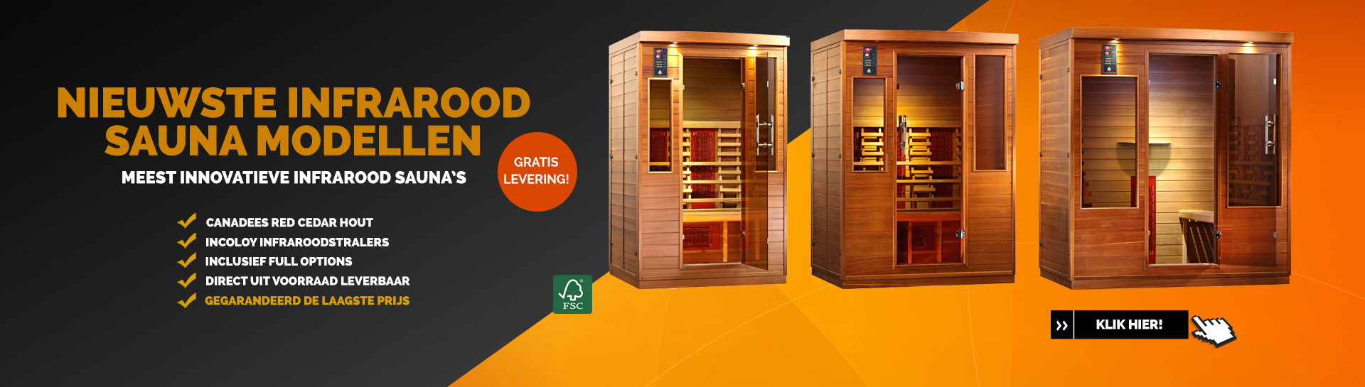 Infrarood sauna's Health & Wellness