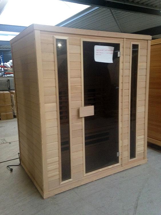 Full Spectrum 4 persoons infrarood sauna Hemlock - Outlet