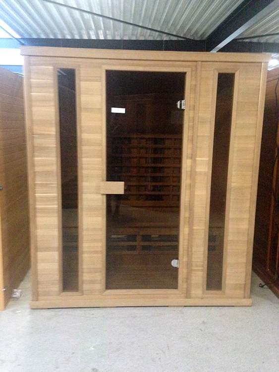 Full Spectrum 4 persoons infrarood sauna Red Cedar - Outlet
