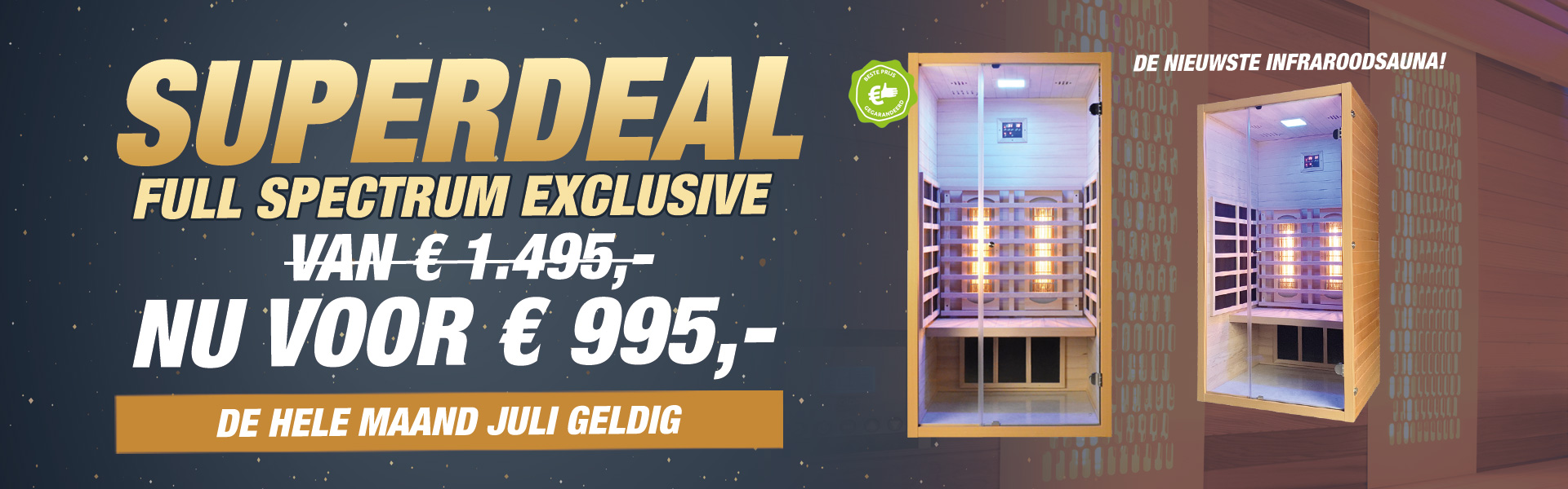 Full Spectrum Exclusive Juli Actie
