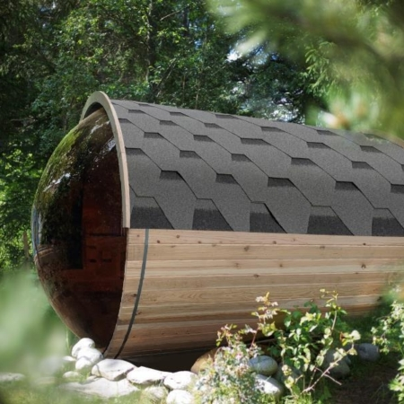 Barrel sauna traditioneel - Infra4Health