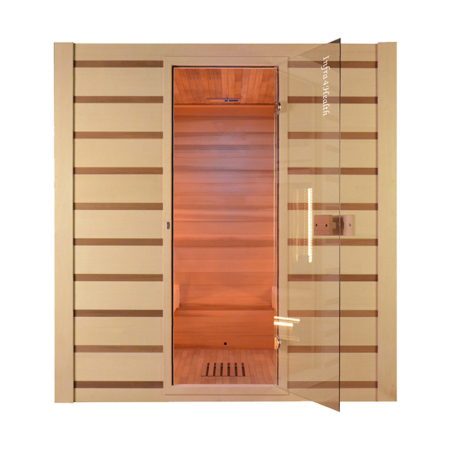 Traditionele Combi sauna - Infra4Health